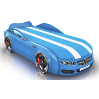 Кровать-машинка Royal Berton big мультибренд Синяя