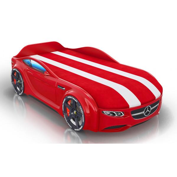 Кровать-машинка Royal Willy мультибренд Красная