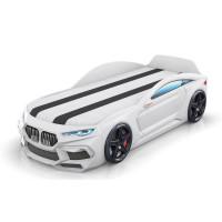 Кровать-машинка Romack Romeo-M 3D Белая