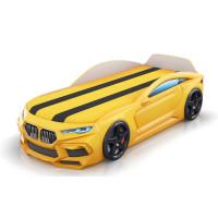 Кровать-машинка Romack Romeo-M 3D Желтая