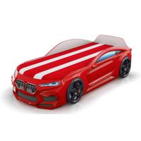 Кровать-машинка Romack Romeo-M 3D Красная