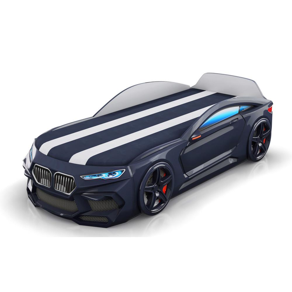 Кровать-машинка Romack Romeo-M 3D Черная