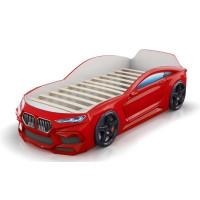 Кровать-машинка Romack Romeo 3D Красная