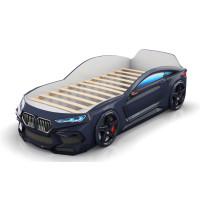 Кровать-машинка Romack Romeo 3D Черная