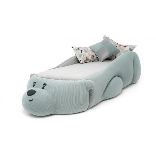 Кровать Romack Sonya Мишка Junior , Мятный
